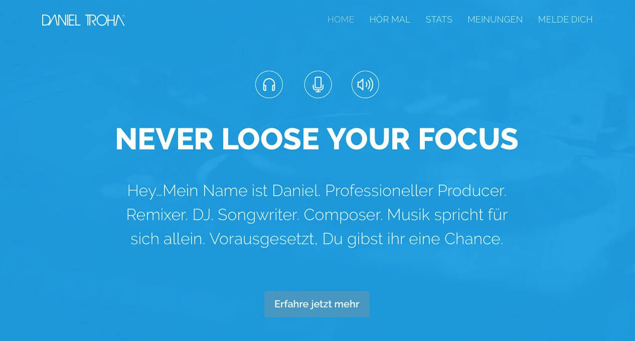 Daniel Troha Music