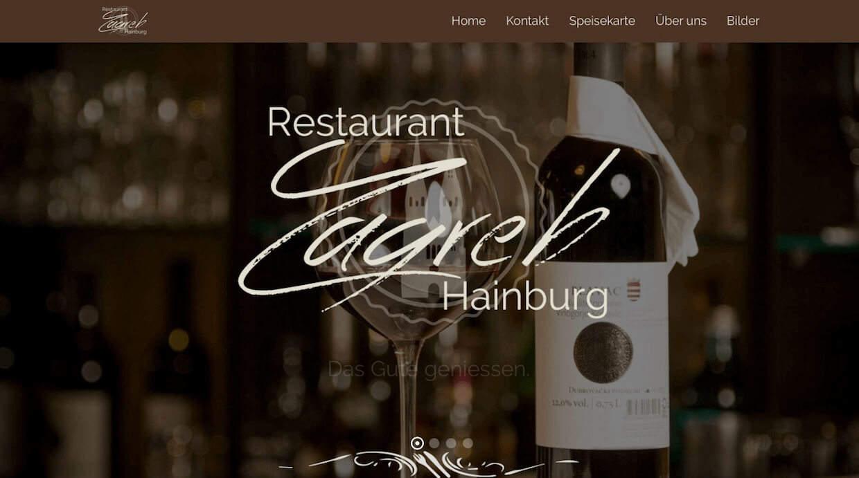 Restaurant Zagreb In Hainburg